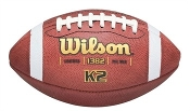 Wilson K2 Leather Youth Game Football