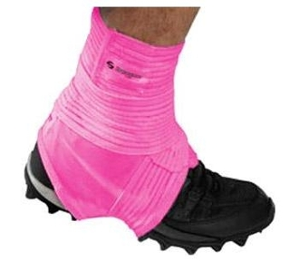 Pink Spat Wrap Ankle Support