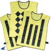 Sideline Official Pinnies - Set of 3